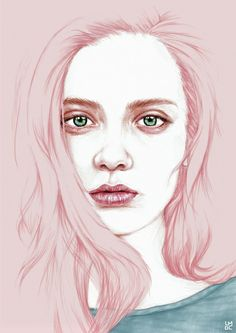 GIRL Art Print by Laura O'Connor | Society6