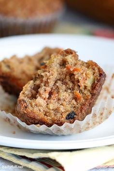 Morning Glory Muffins Muffin Recipes, Cake Recipes, Snacks Recipes, Baking Recipes, Low Histamine Foods, Morning Glory Muffins, Breakfast On The Go, Breakfast Muffins, Breakfast Ideas