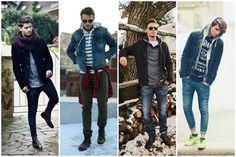 Zimní pánské outfity plné stylu a inspirace   MODA.CZ