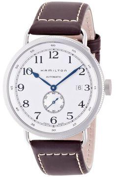 Hamilton Khaki Pioneer Auto Brown Watch   For more information 953d2b5e5f3