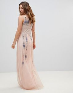 Find the best selection of Frock And Frill Premium All Over Embellished Maxi Dress. Shop today with free delivery and returns (Ts&Cs apply) with ASOS! Prom Dresses, Long Dresses, Formal Dresses, Wedding Guest Gowns, Frock And Frill, Frocks, No Frills, Asos, Fashion