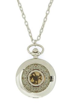 Old and New Pocket Watch Necklace, #ModCloth OMG WANT UIT LOVE IT M,W KNS