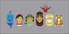 Aladdin - Mini People - Pattern by CloudsFactory