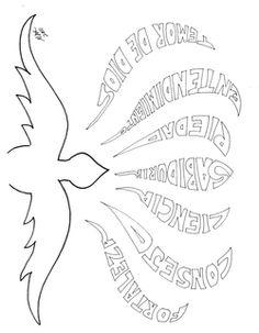 Espiritu Santo Espíritu Santo Para Colorear