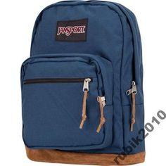 2d8c2d0fef78b JanSport Right Pack Plecak Torba szkolna Navy Blue - 6320266091 - oficjalne  archiwum allegro