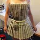 Sew a Newspaper Dress -- links to instructions!