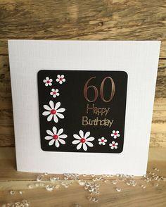 Handmade Birthday Card  Special Birthday  Happy Birthday