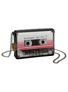 Loungefly Marvel Guardians Of The Galaxy Vol. 2 Mix Tape Crossbody Bag