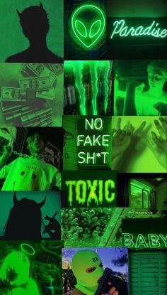 Wallpaper Verde, Iphone Wallpaper Green, Loki Wallpaper, Neon Wallpaper, Laptop Wallpaper, Tumblr Wallpaper, Aesthetic Iphone Wallpaper, Dark Green Aesthetic, Yellow Aesthetic Pastel