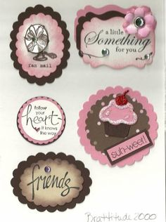 Card Candy Swap by brattitude2000 - Cards and Paper Crafts at Splitcoaststampers