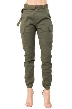 Cargo Pants Outfit, Joggers Outfit, Cargo Pants Women, Jogger Pants, Pants For Women, Clothes For Women, Skinny Cargo Pants, Olive Green Cargo Pants, Army Green Pants