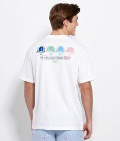 Jockey Helmets Graphic T-Shirt - #VineyardVines  $38