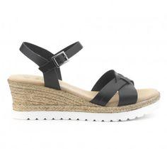 Sandlaia cuña IXOO Outlet, Espadrilles, Sandals, Shoes, Fashion, Winter, Summer Time, Women, Espadrilles Outfit