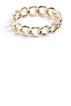 Fashion Accessories - Chain Link Bangle - EziBuy New Zealand