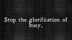 Autointitular-se 'workaholic', hoje, é cafona. Fica esperto ;)