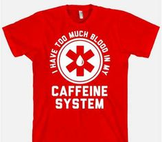 Java-Overdosed Tops - This Coffee Shirt is for People with an Extreme Caffeine Addiction