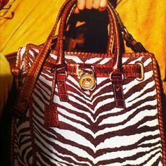 The New Michael Kors bag.... I'm in love!