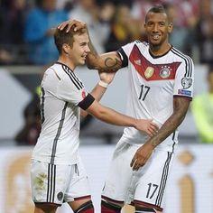 #DieMannschaft Götze And Boateng Euro16 qualifiers