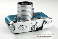 Leica M6 HISTORICA e.V Edition, 1995 for LEICA Historical Society of Germany 20th Anniversary