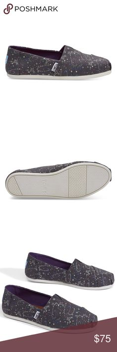 05bc633cc0f 💫TOMS GLOW IN THE DARK OUTERSPACE WOMEN CLASSICS Glow-in-the-dark