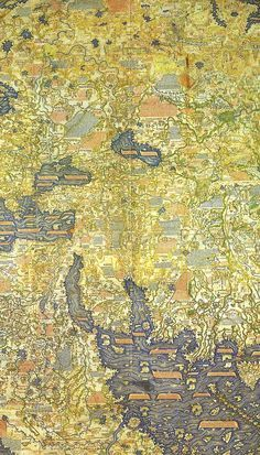 Great medieval world map
