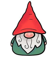 Easy step by step how to draw a cute gnome in 6 steps Easy Christmas Drawings, Christmas Cards Drawing, Diy Christmas Cards, Simple Christmas, Kids Christmas, Christmas Crafts, Xmas Drawing, Ornament Drawing, Drawing For Kids