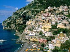 The Amalfi Coast is a stretch of coastline on the southern coast of the…