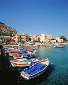Palermo: This area of Sicily Boasts some of the best beaches in the world - from Conde Nast Traveller Magazine (Image via Travel + Leisure Magazine) Best Places To Travel, Oh The Places You'll Go, Places To Visit, Dream Vacations, Vacation Spots, Italy Vacation, Virgin Gorda, Sicily Italy, Venice Italy