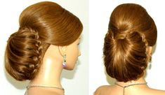 Wedding bridal hairstyle for long hair. Updo hairstyles
