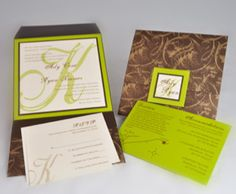 Friday Invitation Inspiration: Monogrammed Elegance - EnvelopMe.com