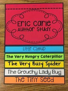 Eric Carle- Author Study