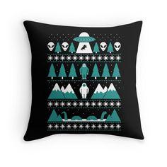 Paranormal Christmas Sweater by Teo Zirinis