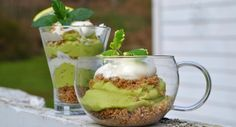 Living Recipes Archives - Page 2 of 8 - Grounded Nutrition — Page 2 Kinds Of Desserts, Great Desserts, Delicious Desserts, Yummy Food, Dessert Ideas, Tasty, Key Lime Avocado Pie, Key Lime Parfait, Yogurt Parfait