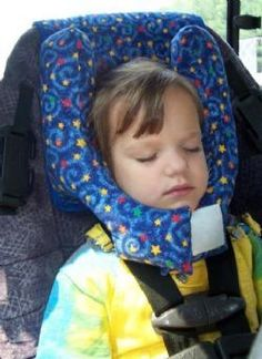 The Sleepy Time Headrest is designed to provide support from all ...
