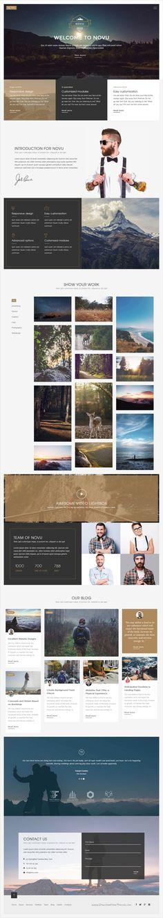 Novu is clean and modern #design responsive #WordPress theme for business and #portfolio multipurpose website with 6 stunning homepage layouts download now➩ https://themeforest.net/item/novu-modern-creative-wordpress-theme/16927703?ref=Datasata