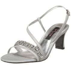 Beautiful low heels. Perfect for dancing and pictures!   Nina Shoes Garland www.NinaShoes.com
