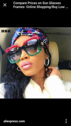 560d10d96a KeiKeSweet New Luxury Brand Designer Oversized Big Women Mirror Sexy Clear  Sunglasses Lady Red Green Shades Crystal Sun Glasses.