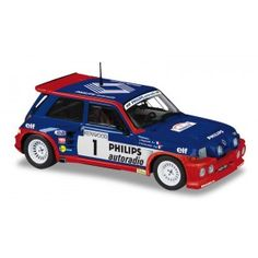 Solido diecast model cars and trucks are now available from uk diecast models buy online now!! Renault Maxi Turbo 1986