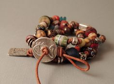 RESERVED FOR MELISSA   African Trade Bead by DianesAddiction