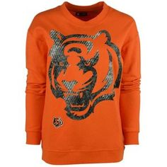5th & Ocean Women's Cincinnati Bengals Athletic Sweatshirt