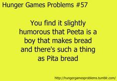 hunger games: peeta mellark & pita bread