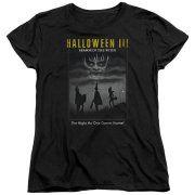 Halloween III Horror Thriller Sci-Fi Movie Masked Children Poster Womens T-Shirt