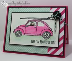 Beautiful Ride - Stamp With Amy K