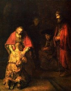 "Rembrandt Harmensz van Rijn - ""Return of the Prodigal Son"""