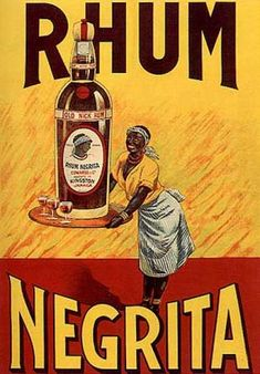 1910s Rum Poster