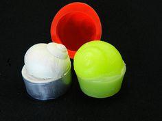 Silikonformen - Kerzengießform Schnecke, Teelicht - ein Designerstück von luflom-design bei DaWanda