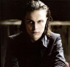 """ville valo (during the song """"bittersweet""""), with Apocalyptica and Laura from the Rasmus"""