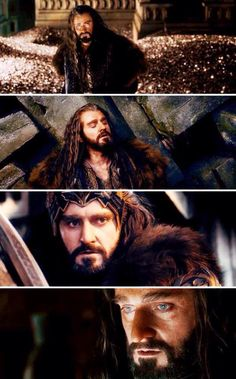 Richard Armitage --- Thorin and the dragon desease (hunger for gold)