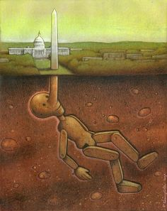 These 29 Clever Drawings Will Make You Question Everything Wrong With The World - Polish artist Pawel Kuczynski has worked in satirical illustration since specializing in thought-provoking images Art Postal, Satirical Illustrations, Art Illustrations, Powerful Art, Powerful Images, Political Art, Political Issues, Political Comics, Question Everything