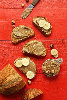 CREAMY Cinnamon Hazelnut Butter